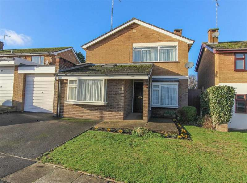 4 Bedrooms Detached House for sale in Cotswold Drive, Finham