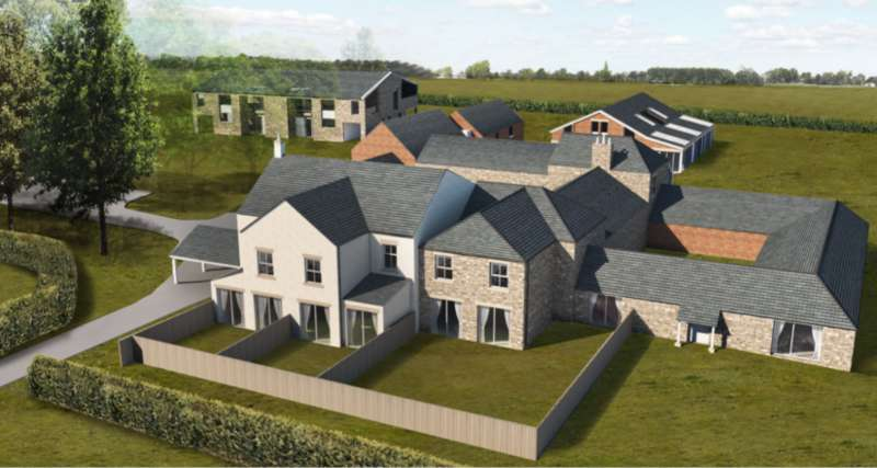 4 Bedrooms House for sale in Land at Sniperley Farm