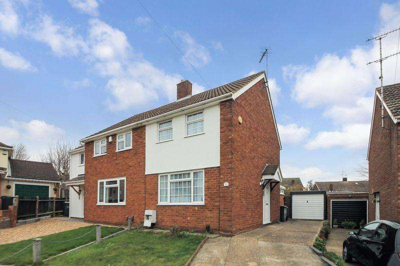 2 Bedrooms Semi Detached House for sale in Leathwaite Close, LU3