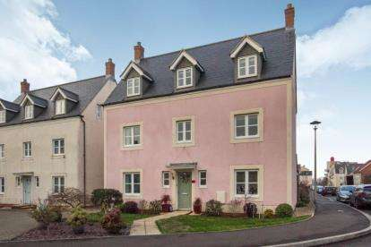 5 Bedrooms Detached House for sale in Kingfisher Road, Portishead, Bristol