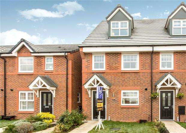 3 Bedrooms Town House for sale in Palmer Close, Moston, Sandbach
