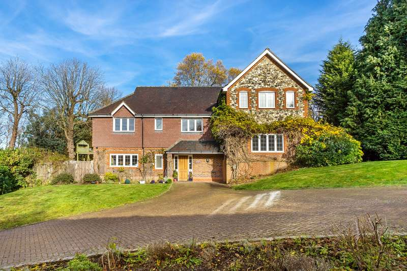 5 Bedrooms Detached House for sale in Big Common Lane, BletchIngley, RH1 4QE