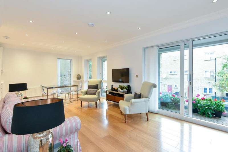 2 Bedrooms Flat for sale in Wanless Road, Herne Hill