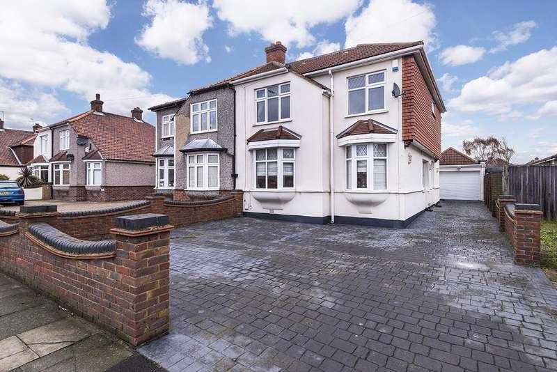 4 Bedrooms Semi Detached House for sale in Brampton Road, Bexleyheath, Kent, DA7