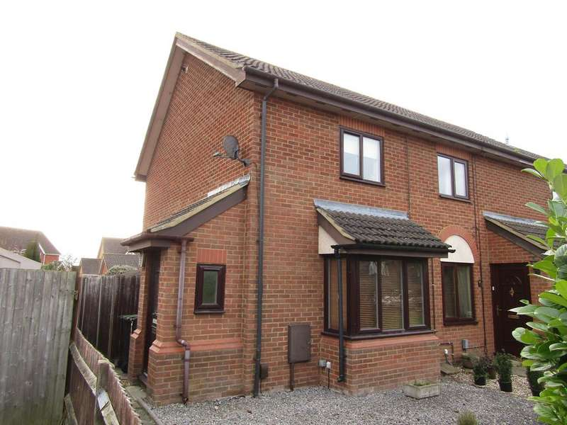 2 Bedrooms End Of Terrace House for sale in Ramerick Gardens, Arlesey, SG15 6XZ