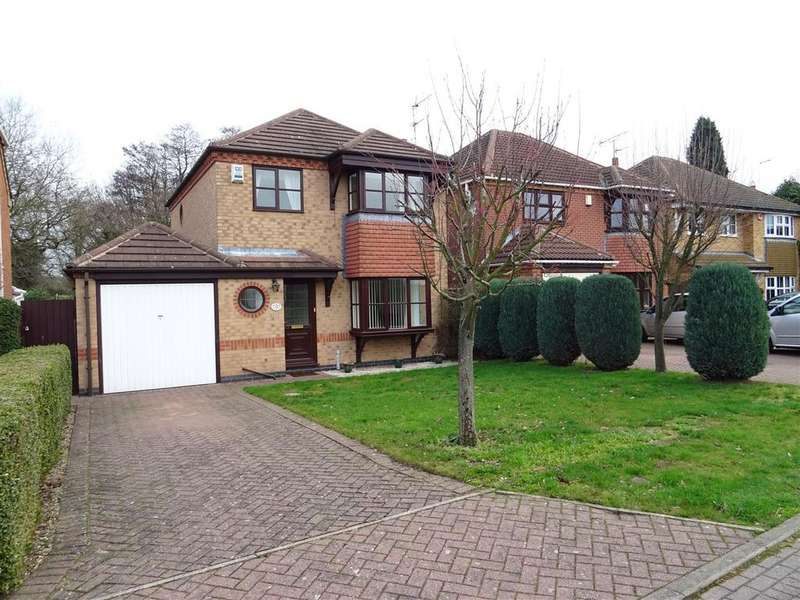 3 Bedrooms Detached House for sale in Kingfisher Close, Whitwick, Leicestershire