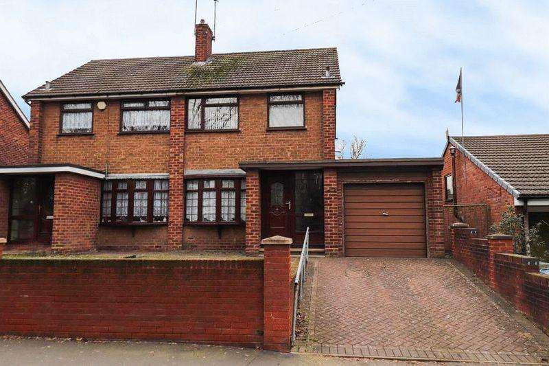 3 Bedrooms Semi Detached House for sale in Locarno Road, Tipton
