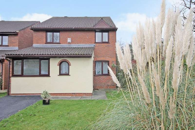 3 Bedrooms Detached House for sale in Rockingham Close, Gorse Covert, Warrington, WA3