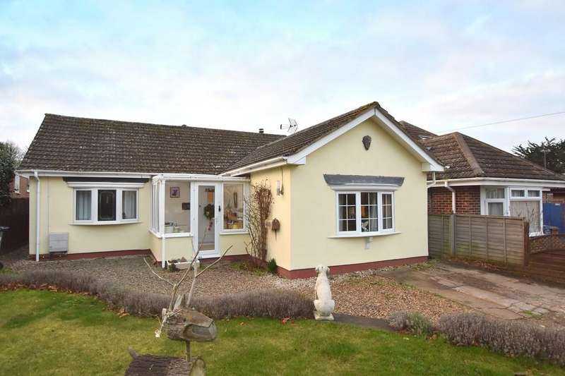 3 Bedrooms Detached Bungalow for sale in Bourne Hill, Wherstead, Ipswich, IP2 8NQ