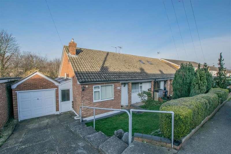 2 Bedrooms Semi Detached Bungalow for sale in High Oak Road, Ware