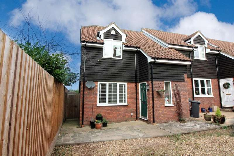 2 Bedrooms End Of Terrace House for sale in Lime Walk, Henlow, SG16