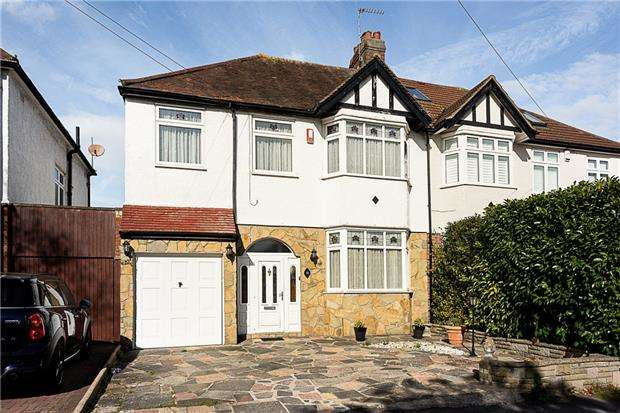 4 Bedrooms Semi Detached House for sale in Hilbert Road, Cheam, Surrey, SM3 9TF