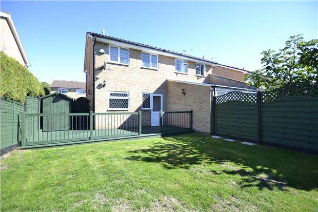 2 Bedrooms Semi Detached House for sale in Homeleaze Road, Bristol, BS10 6BZ