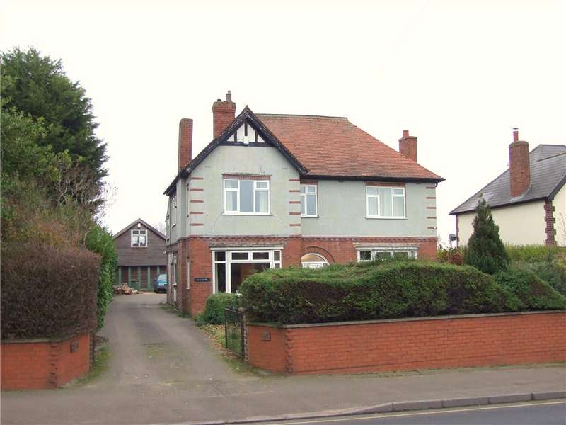 4 Bedrooms Detached House for sale in Nottingham Road, Somercotes, Alfreton, Derbyshire, DE55