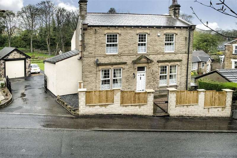 4 Bedrooms Detached House for sale in Oak Villa Halifax Rd, Batley, West Yorkshire, WF17