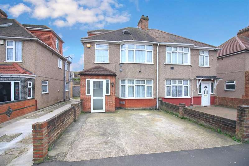 4 Bedrooms Semi Detached House for sale in Kingsley Avenue, Hounslow, TW3