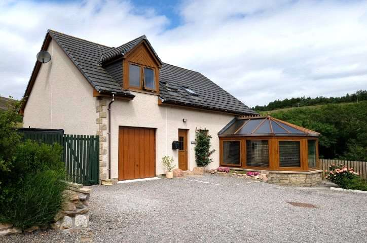 4 Bedrooms Detached House for sale in Glen View, Glenrinnes, Dufftown, Keith, Moray, AB55