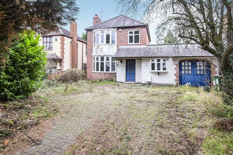 3 Bedrooms Detached House for sale in Leicester Road, Glen Parva, Leicester, LE2