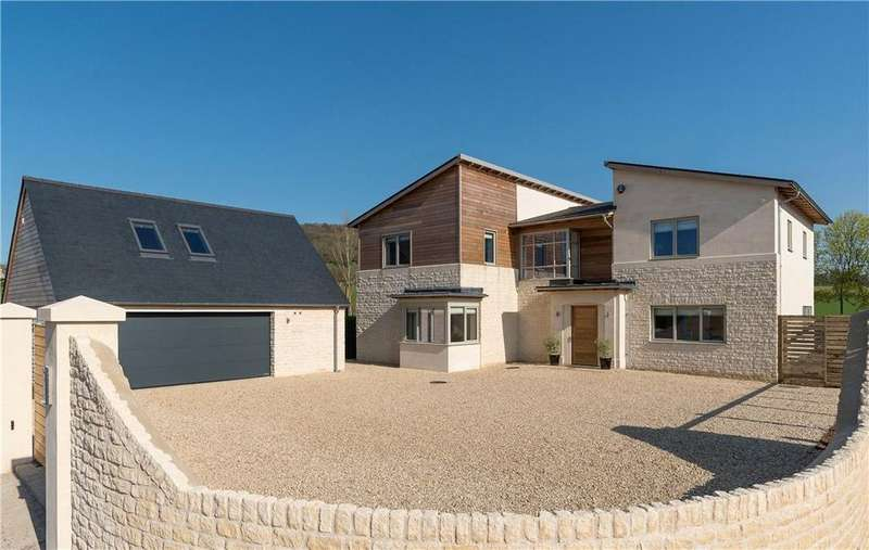 5 Bedrooms Detached House for sale in Tyning Road, Bathampton, Bath, Somerset, BA2