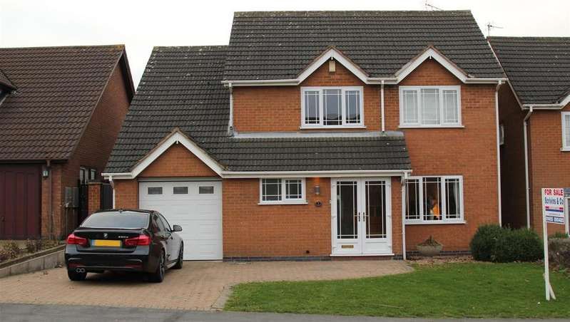 4 Bedrooms Detached House for sale in Brookdale, Hinckley