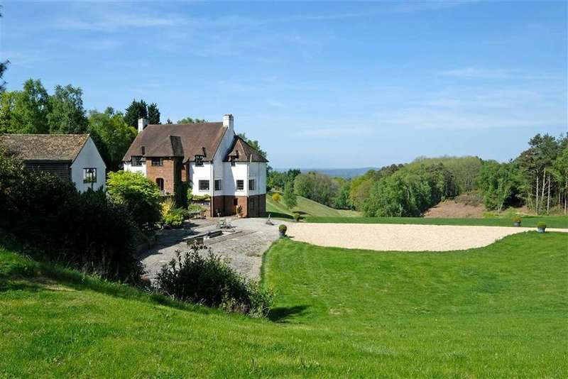 5 Bedrooms Detached House for sale in Tilford Road, Hindhead, Surrey, GU10