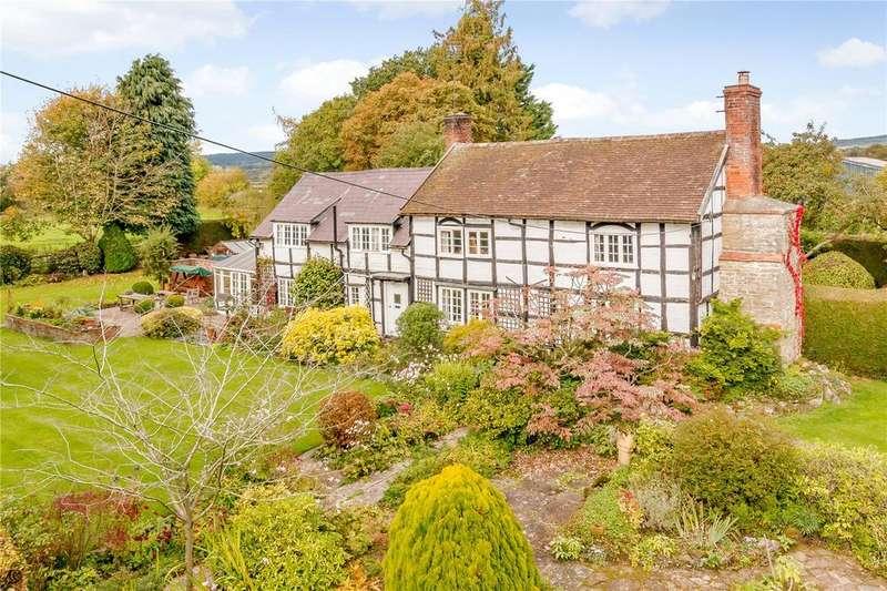 4 Bedrooms Detached House for sale in Kingsland, Leominster, Herefordshire