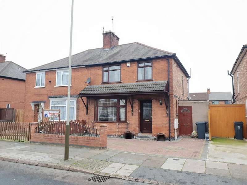 3 Bedrooms Semi Detached House for sale in Roseneath Avenue , Rushey Mead, Leicester