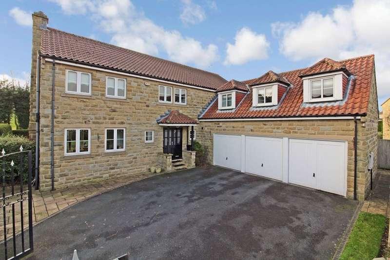 4 Bedrooms Detached House for sale in Woodlands Park, Scarcroft, Leeds, LS14