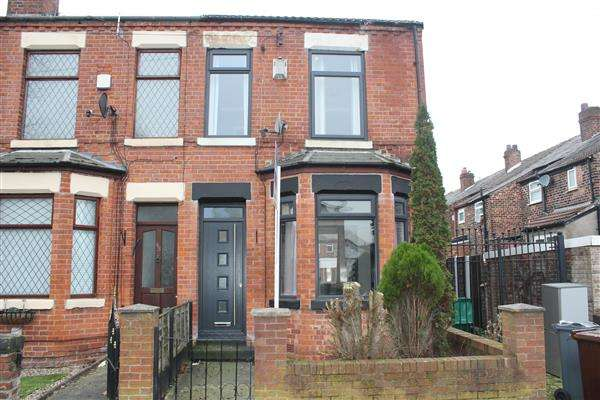 2 Bedrooms End Of Terrace House for sale in Northfield Road, New Moston, Manchester