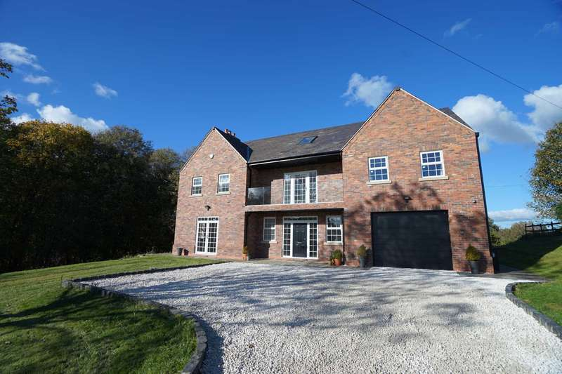 6 Bedrooms Detached House for sale in Bank Top Farm, Mill Lane, Aspull