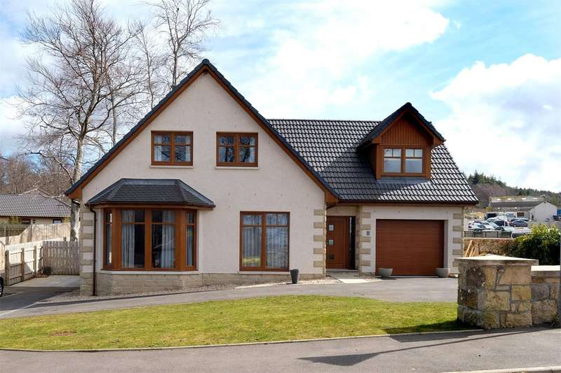4 Bedrooms Detached House for sale in 7 Hayley Smith Gardens, Fochabers, Moray, IV32