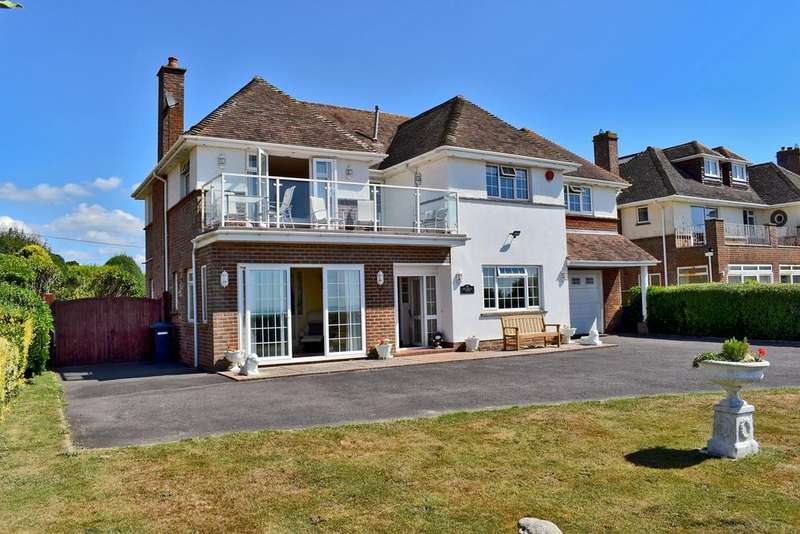 5 Bedrooms Detached House for sale in Marine Drive West, Barton on Sea, New Milton, BH25