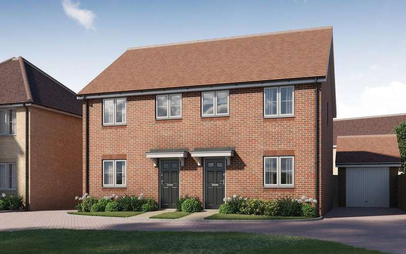 3 Bedrooms Semi Detached House for sale in The Usher, Tavistock Place, BEDFORD, MK45