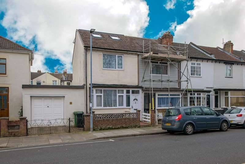 4 Bedrooms End Of Terrace House for sale in Tipner Road