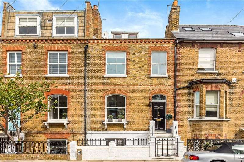 4 Bedrooms Terraced House for sale in Evelyn Road, Richmond, TW9