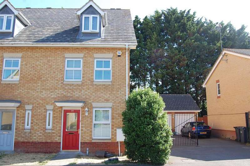 3 Bedrooms Terraced House for sale in Morgan Close, Saxon Gate, Luton