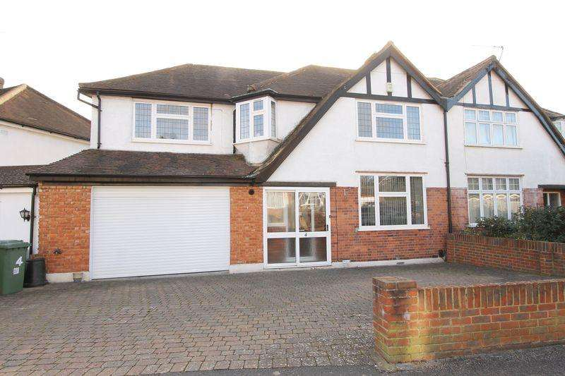 4 Bedrooms Semi Detached House for sale in Hayes Crescent, Cheam