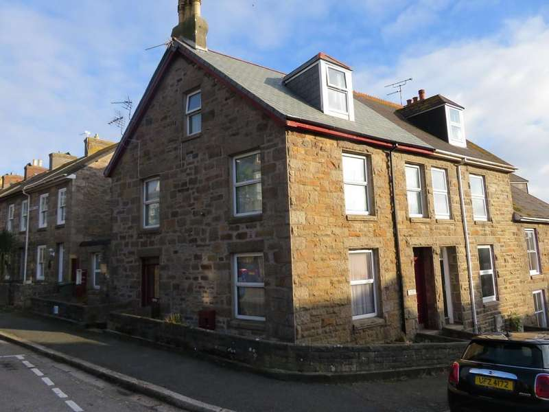 3 Bedrooms End Of Terrace House for sale in Lescudjack Road, Penzance