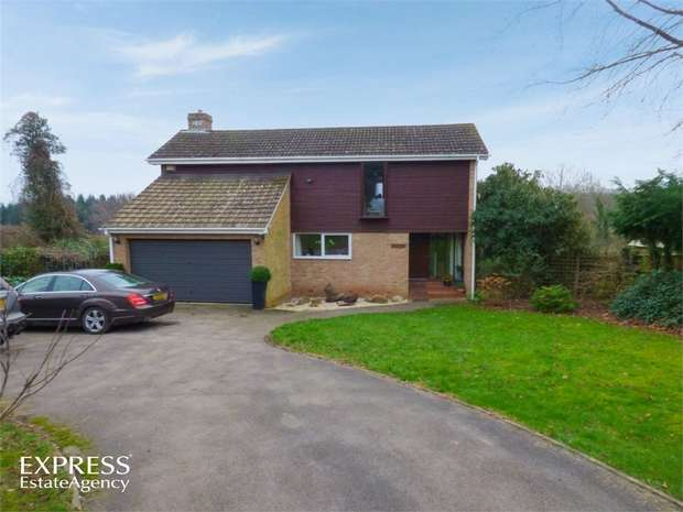 5 Bedrooms Detached House for sale in Glebe Orchard, Cliffords Mesne, Newent, Gloucestershire
