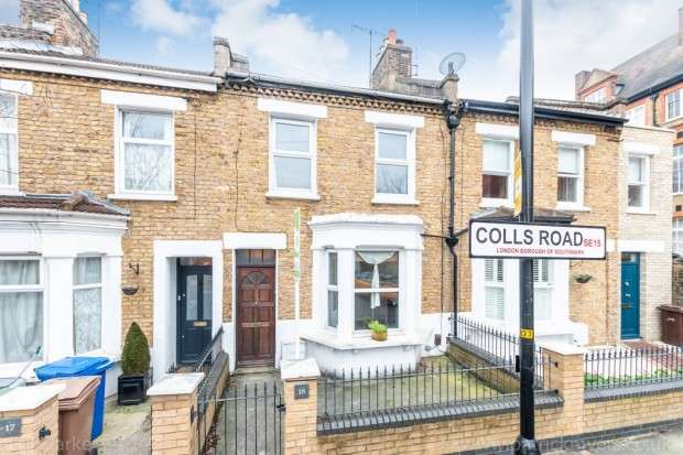 3 Bedrooms Terraced House for sale in Colls Road, Peckham, SE15