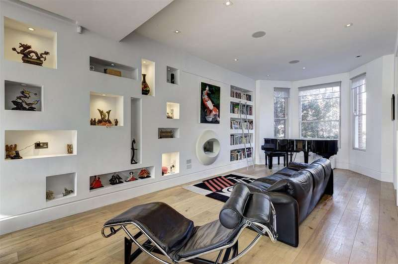 6 Bedrooms Terraced House for sale in Goldhurst Terrace, South Hampstead, London, NW6