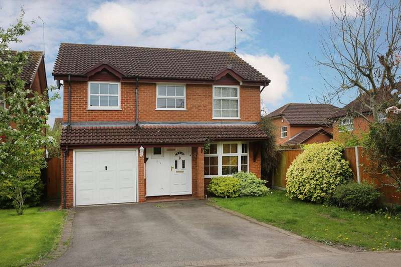 4 Bedrooms Detached House for sale in Firmstone Close, Lower Earley, Reading, RG6 4JS