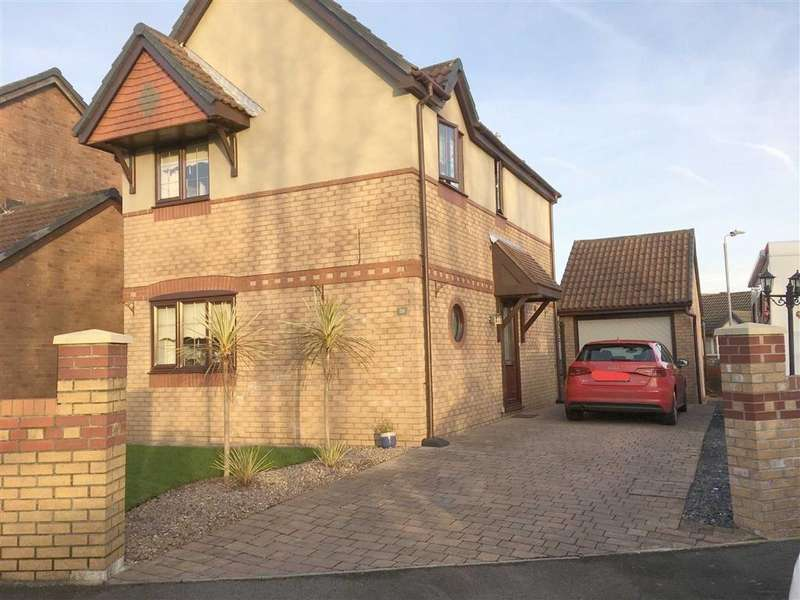 4 Bedrooms Detached House for sale in Nightingale Court, Coedcae, Llanelli