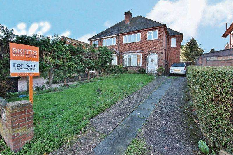 3 Bedrooms Semi Detached House for sale in Sedgley Road, Tipton