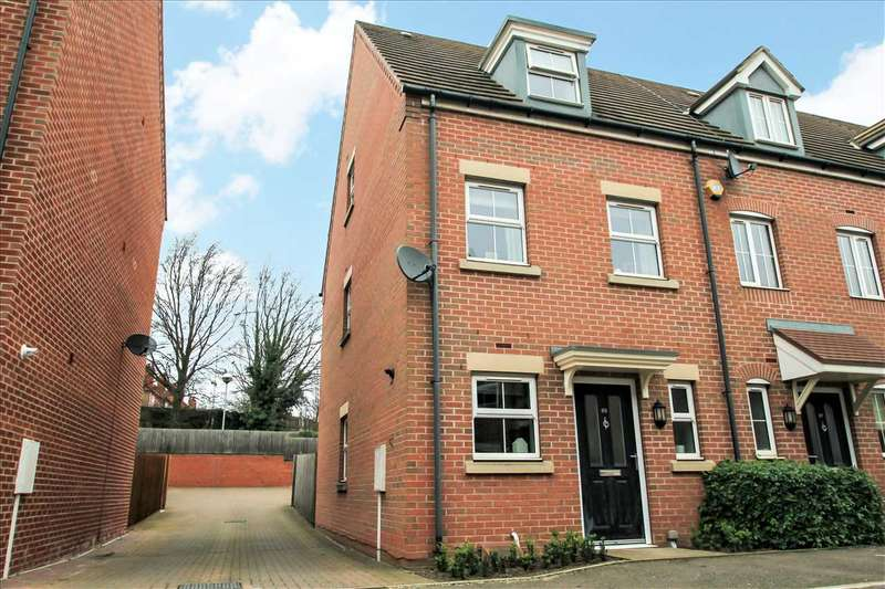 3 Bedrooms Terraced House for sale in Allenby Close, Lincoln