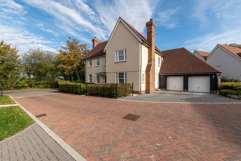 5 Bedrooms Detached House for sale in Aythorpe Roding, Dunmow
