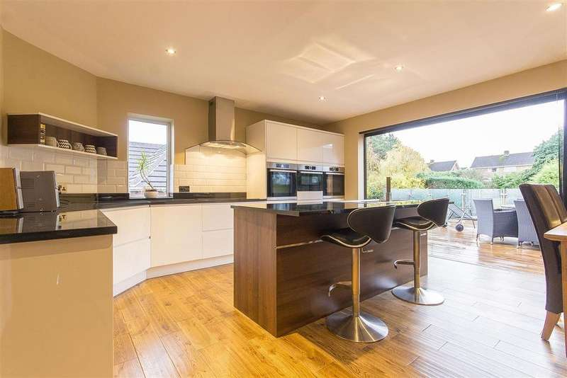4 Bedrooms Detached House for sale in Hazel Drive, Walton, Chesterfield