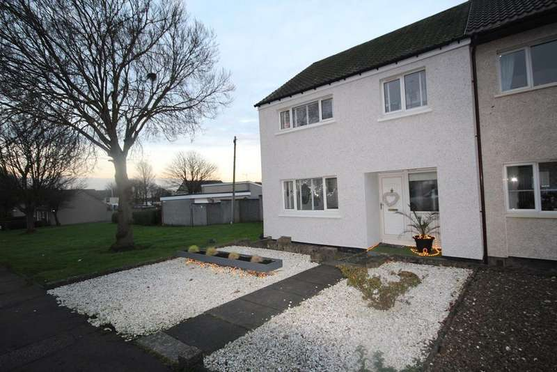 3 Bedrooms End Of Terrace House for sale in Chapelhill, Kirkcaldy, Fife, KY2