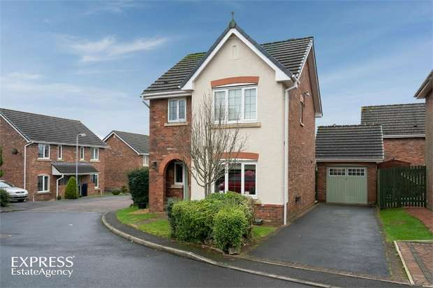 3 Bedrooms Detached House for sale in Fir Garth, Cleator Moor, Cumbria
