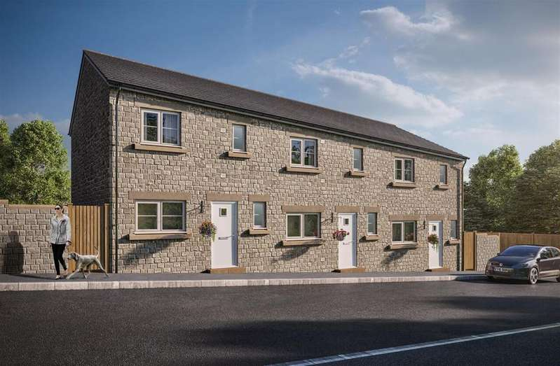 3 Bedrooms Terraced House for sale in Buckton View, Micklehurst Road, Mossley, OL5 9NL